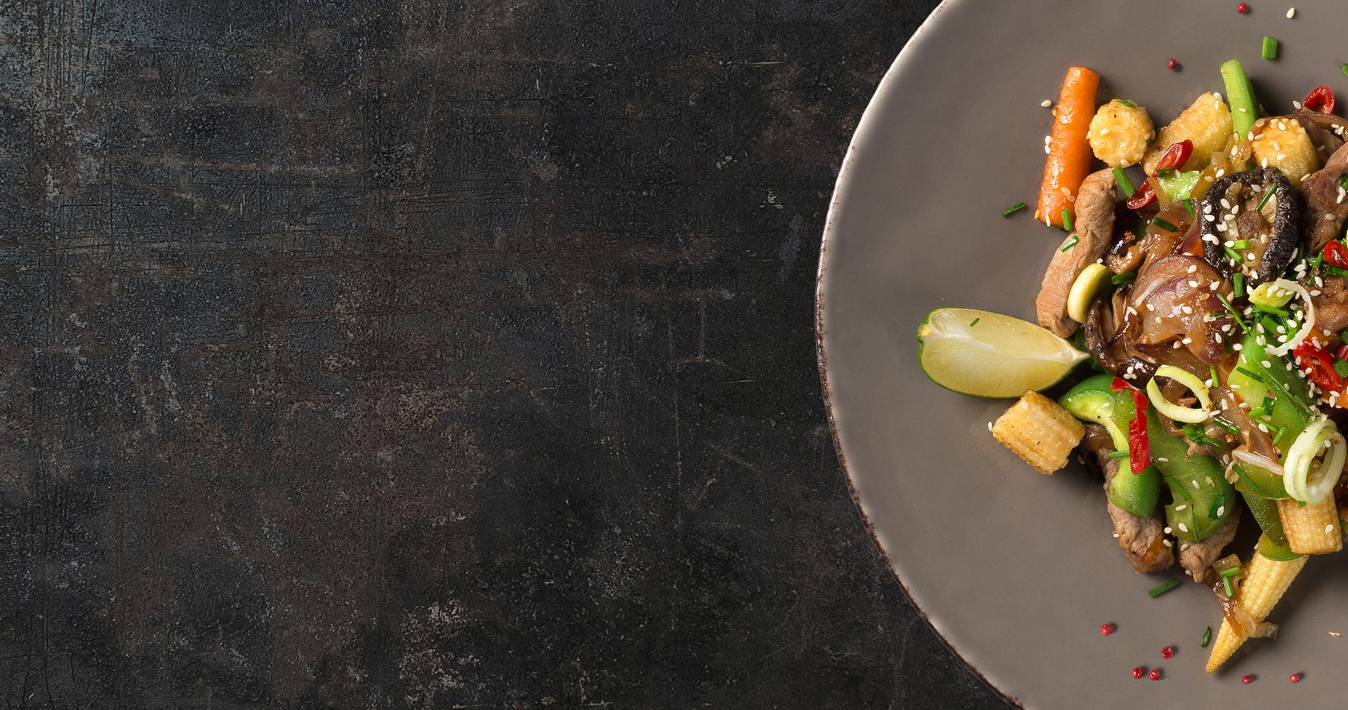 Pour bien cuisiner, il faut de bons ingrédients,</br></br>un palais et du Cœur !